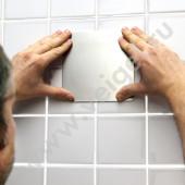 Металлическая пластина для неровных поверхностей 145-145 мм
