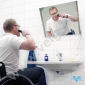 Рама зеркала с углом до 30 градусов